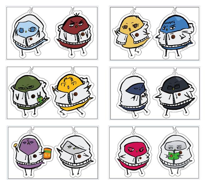 【ひよこのバスケ】アクリルキーホルダー6種-.png